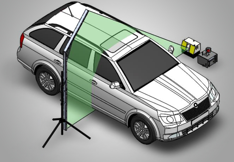 Car X-Ray Scanner