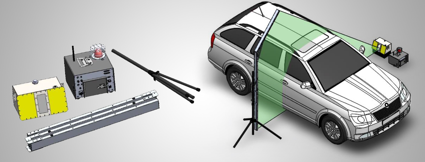 CRX Portable Car X-Ray Scanner